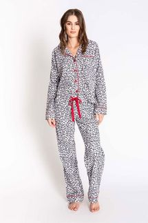 PJ Salvage Leopard Pajama Set