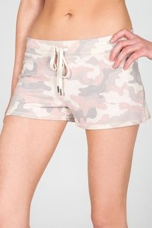 PJ Salvage Love Is A Battle Camo Short