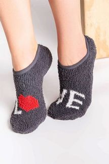 PJ Salvage Love Slipper Socks