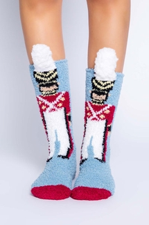 PJ Salvage Nutcracker Socks