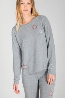 PJ Salvage On Holiday Star Long Sleeve and Pant Set