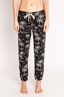 PJ Salvage Palm Tree Banded Pant