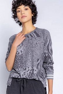 PJ Salvage Patch Perfect Long Sleeve Top