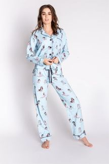 PJ Salvage Peace Dogs Pajama Set