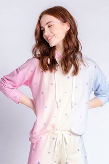PJ Salvage Peachy Party Star Hoody