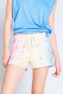 PJ Salvage Peachy Party Star Short