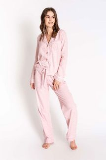 PJ Salvage Pink Star Pajama Set