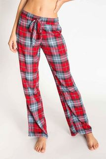 PJ Salvage Plaid Pajama Pant