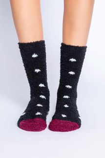 PJ Salvage Polka Dot Socks