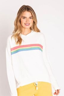 PJ Salvage Rainbow Lounge Hoody