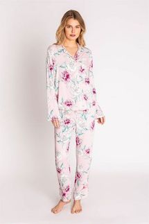 PJ Salvage Runway Floral Pajama Set