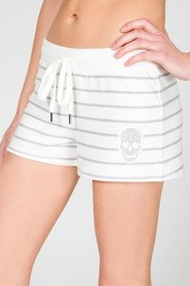 PJ Salvage Simple Skull Short