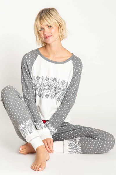 PJ Salvage Snowed In Pajama Set