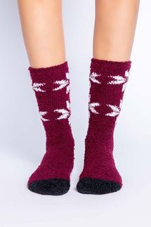 PJ Salvage Snowflake Socks