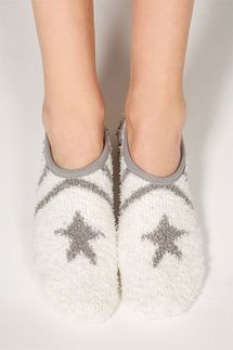 PJ Salvage Star Slipper Socks
