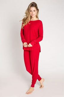 PJ Salvage Starlet Red Ski Jammie
