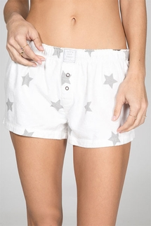 PJ Salvage Starry Eyes Flannel Short