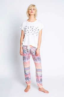 PJ Salvage Sunset Glow Banded Pant