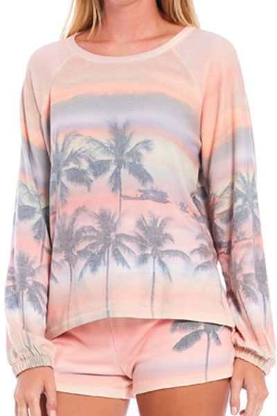 PJ Salvavge Sunset Glow Long Sleeve