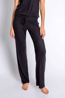 PJ Salvage Textured Basics Black Pant