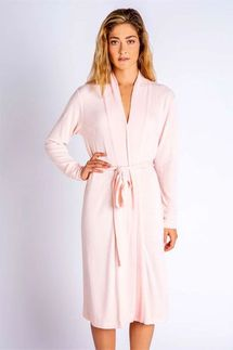 PJ Salvage Textured Basics Blush Robe