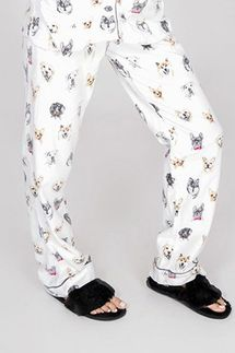 PJ Salvage Think Pawsitive Flannel Pant