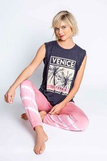 PJ Salvage Venice Tank and Pant Set