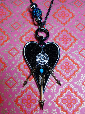 Arrows Piercing the Darkness. Prophetic Necklace