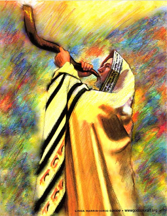 Blow the trumpet in Zion! 8.5 x 11 print