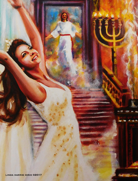 Dance in the Holy of Holies! Art Print