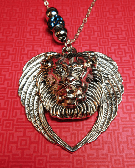 Lion and the Lamb. (Surprise Hidden Lamb Charm) Prophetic necklace