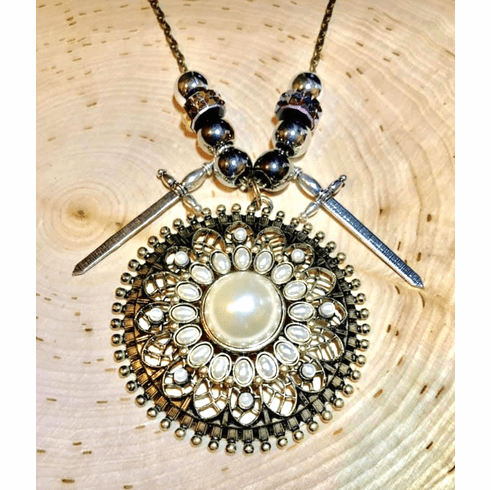 Queen Esther's double Anointing! Necklace