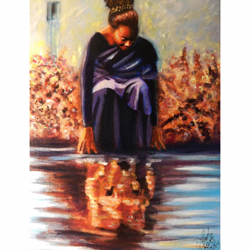 """Lioness Arise"" You reflect Christ. Art Print"