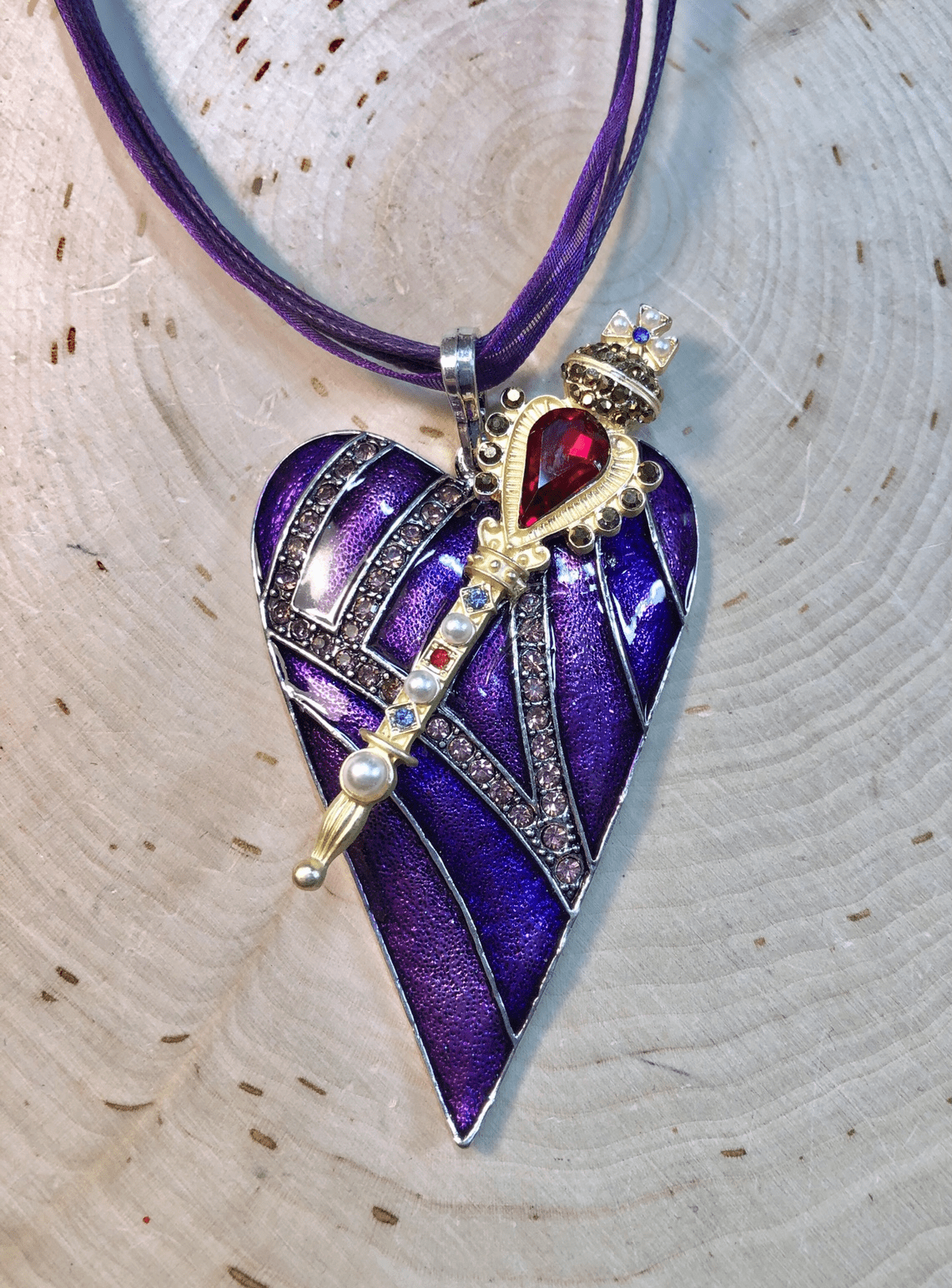 Receive your Purple Heart and Scepter from the King!