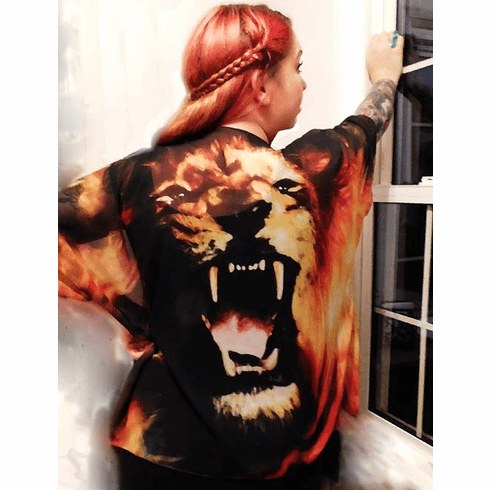 ROAR! Lion Kimono. Only 3. One size fits all