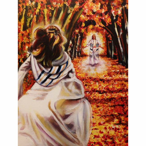 Run to Yeshua! 8.5 x 11 art print