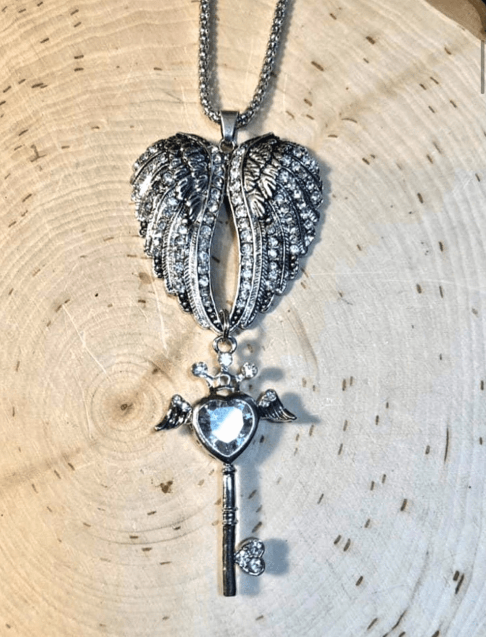 The Visionary�s Key necklace
