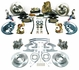 1964-1972 Chevelle 4 Wheel Disc Brake Conversion Kit 11 Inch Booster Square Master Cylinder