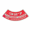 1964-1972 CHEVELLE SMALL BLOCK AIR CLEANER DECAL