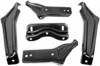 1964-65 Chevelle Rear Bumper Brackets, 5 pc set