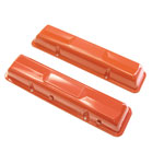1964-72 Chevelle Small Block Valve Covers Orange