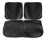 1964 EL CAMINO FRONT BENCH SEAT COVERS BLACK