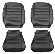 1965 EL CAMINO FRONT BUCKET SEAT COVERS BLACK