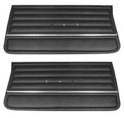 1965 EL CAMINO FRONT DOOR PANELS BLACK