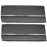 1965 NOVA FRONT DOOR PANELS BLACK