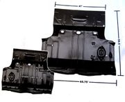 1966-67 Chevelle Complete Trunk To Floor Pan