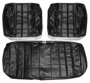 1966 EL CAMINO FRONT BENCH SEAT COVERS BLACK