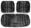 1966 EL CAMINO FRONT BENCH SEAT COVERS BLUE TWO TONE