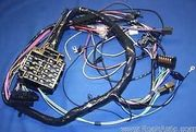 1966 PONTIAC GTO DASH PANEL HARNESS,CONSOLE AUTO TRANS,WITH GAUGES.