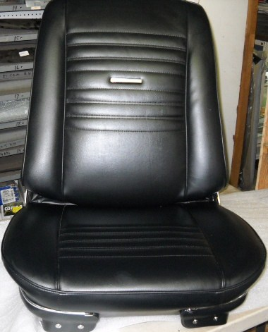 Rebuilt Front Bucket Seats for Chevelle